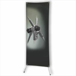 Multi Banner Stand - Steel